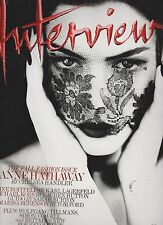 INTERVIEW FASHION Magazine Sept 2011, THE FALL FASHION ISSUE, ANNE HATHAWAY.