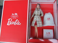 Coach Barbie Doll Gold Label 2013 with Leather Handbag NRFB MIB Sold Out