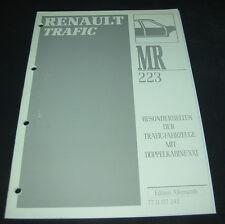 Werkstatthandbuch Renault Trafic Besonderheiten Doppelkabine Karosserie Polster