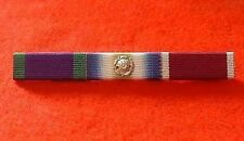 Northern Ireland Falklands + Rosette Army LSGC Medals Ribbon Bar Pin