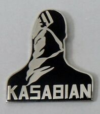 Kasabian 'Club Foot' enamel badge. Oasis,Mod,Indie.