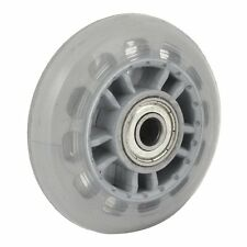 Skating Shoes 608ZZ Bearing Inline Skate Wheel Clear Gray AD
