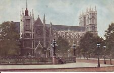 WESTMINSTER ABBEY. 1904 Vintage Postcard in Good Order