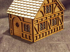 WARGAME TERRAIN  TUDOR HOUSE EASY BUILD KIT WOULD SUIT WARHAMMER STYLE  GAMES