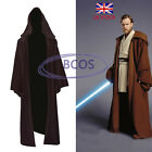 Hot STAR WARS Obi- Wan Jedi Adult/Kid Cape Cloak Hooded Cosplay Costume UK STOCK