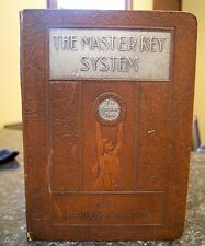 """Antiquarian 1923 Book in 24 Parts """"The Master Key System"""" Charles F. Haanel"""