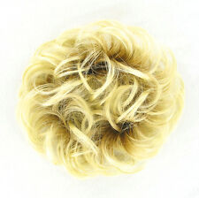 chouchou peruk cheveux blond très clair doré ref: 17 en ys