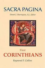 Sacra Pagina: First Corinthians by Collins, Raymond