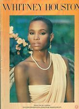WHITNEY HOUSTON songbook SELF-TITLED sheet music book 1986 . FREE US MAIL