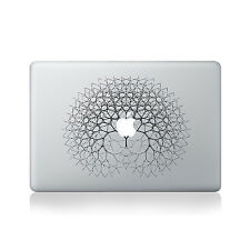 Fractal Tree Vinyl Sticker for Macbook (13/15) / Macbook Sticker / Laptop Sti...