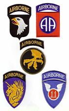 WWII - AIRBORNE DIVISION (Set de 5 - Reproductions)