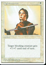 MAGIC THE GATHERING 4TH EDITION WHITE RIGHTEOUSNESS