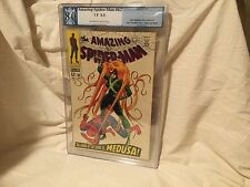 Silver Age THE AMAZING SPIDER-MAN #62 Graded PGX 8.0 VF Medusa App.  Like CGC