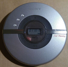 Sony D-EJ106CK Walkman Portable CD Player Compact Disc Player Tested & Works