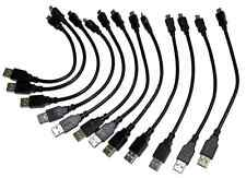 "12X Lot of the New 8"" USB 2.0 A Male to Micro USB B Male Adapter Pigtail 12Pcs."