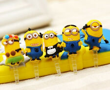 Cute And Funny Style Cute Minions Design 3.5mm Anti Dust Plug For Mobile Phone