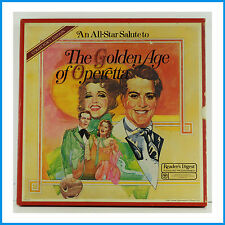The Golden Age Of Operetta Reader's Digest 8 Record Box Set RCA RD4A-052