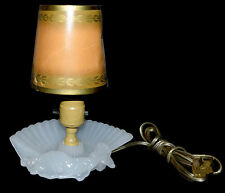 Houze Glass DECO Moonstone Semi-Nude Lady Lamp