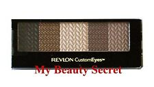 REVLON CUSTOM EYES SHADOW & LINER PALETTE #020 NATURALLY GLAMOROUS -NEW