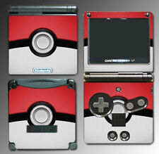 Pokeball Special Edition X and Y Video Game Skin Protector Cover Nintendo GBA SP