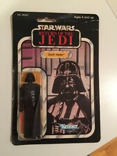 1983 STAR WARS ROTJ 77 Back A DARTH VADER (Made in Mexico) Carded Lily Ledy