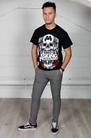Official Asking Alexandria Black Shadow Unisex T-Shirt Flag Eater Full Blooded