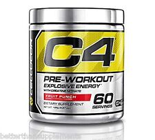 Cellucor C4 Extreme New Explosive Workouts 390g /60serv [FRUIT PUNCH] - Free P&P