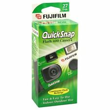 Fujifilm Quicksnap Flash 400 asa  35mm Single Use Disposable Camera