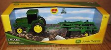John Deere Tractor & Ripper Farm Set 60th Anniversary ERTL Toy 37012  1/32?  New