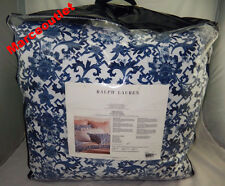 Ralph Lauren Home Dorsey KING Comforter White / Blue