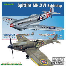 Spitfire Mk.XVI Bubbletop 1/48 Weekend Edition Eduard Aircraft Model Kit #84141