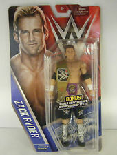 WWE ZACK RYDER CHASE BELT ZACH MATTEL BASIC SERIES 61 WRESTLING ACTION FIGURE