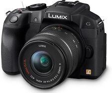 Panasonic Lumix DMC-G6 Kit mit 14-42mm Objektiv Neuware schwarz G6EG-K