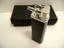 Tsubota Pearl BOLBO Gloss Black model Pipe Lighter Seki City, Japan Old Boy best