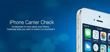 Sim Lock Status, Country and Network Carrier Check Service-iPhone IMEI Check