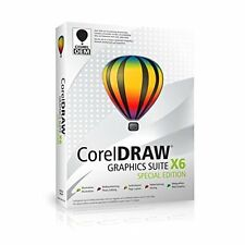 CorelDRAW Graphics Suite X6 Special Edit. OEM - 1 Nutzer - DEUTSCH - DVD - NEU