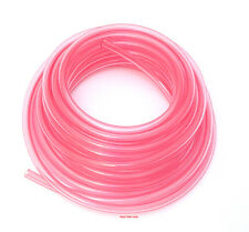 "Helix Clear Red/Pink Polyurethane Fuel Line - 1/4"" (6mm) SOLD BY THE FOOT"