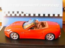 FERRARI CALIFORNIA SPIDER 2008 RED BBR BBR213A2 1/43 LIMITED EDITION MADE ITALY