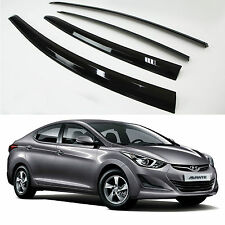 Sun Rain Wind Smoke Window Visor Vent Door Visors For HYUNDAI ELANTRA 2011-2015