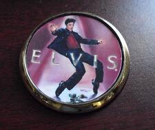 Franklin Mint Elvis Presley Pocket Watch Sample Lid Cover