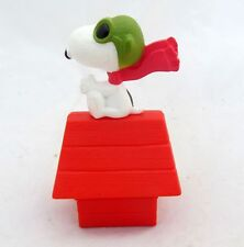 McDonalds Toy Red Baron Snoopy Dog House Peanuts Figure Figurine Cake Topper