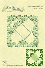 Lea'bilities Cutting and Embossing Die Stencil - FRAME SQUARE LACE Leane 45.9906