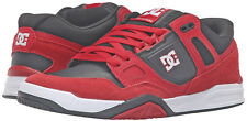N2248 - DC Stag 2 Shoes * New Mens Size 10.5 Red / Black - #26501