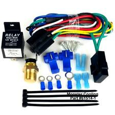 Chevelle/El Camino Radiator Fan Relay Wiring Kit, Works on Single/ Dual Fans,Pr