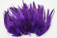 """100+ 9g, 5-7"""" Saddle COQUE Rooster Feathers for crafting, 20+ Colors to pick"""