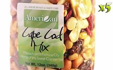 60oz Gourmet Style Bag of Cape Cod Cranberry Mix with Fruits & Nuts [3 3/4 lbs.]