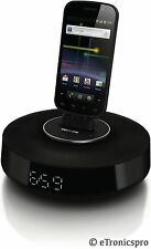 ANDROID PHONE PHILIPS FIDELIO SPEAKER DOCK DOCKING STATION SYSTEM w/ BLUETOOTH