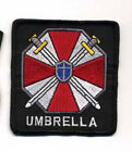"""RESIDENT EVIL UMBRELLA CORPORATION LARGE LOGO 5.5"""" EMBROIDERED PATCH(REPA-102-L)"""