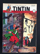 Fascicule périodique Journal Tintin N° 4 1951 BE   couv Laudy