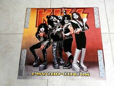 KISS~ PSYCHO CIRCUS~ RARE~ 24 X 24~ # 13~ IN DEMAND NOW ~ PROMO POSTER